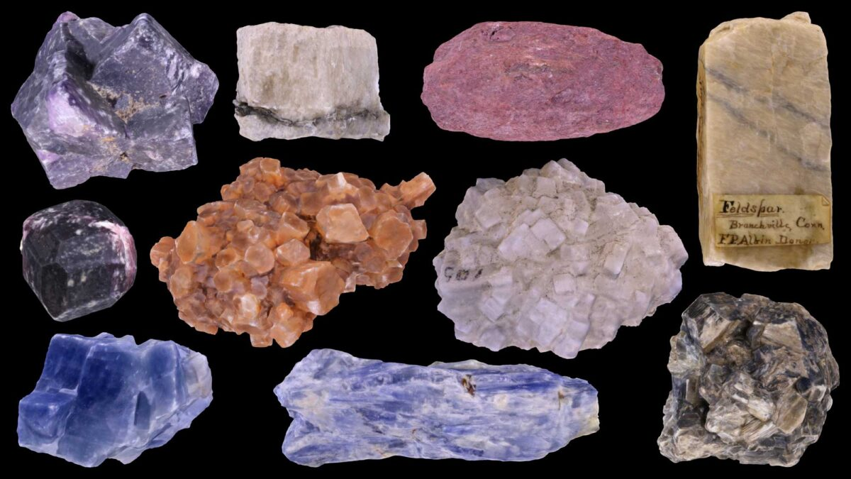 Image showing a variety of different kinds of minerals.