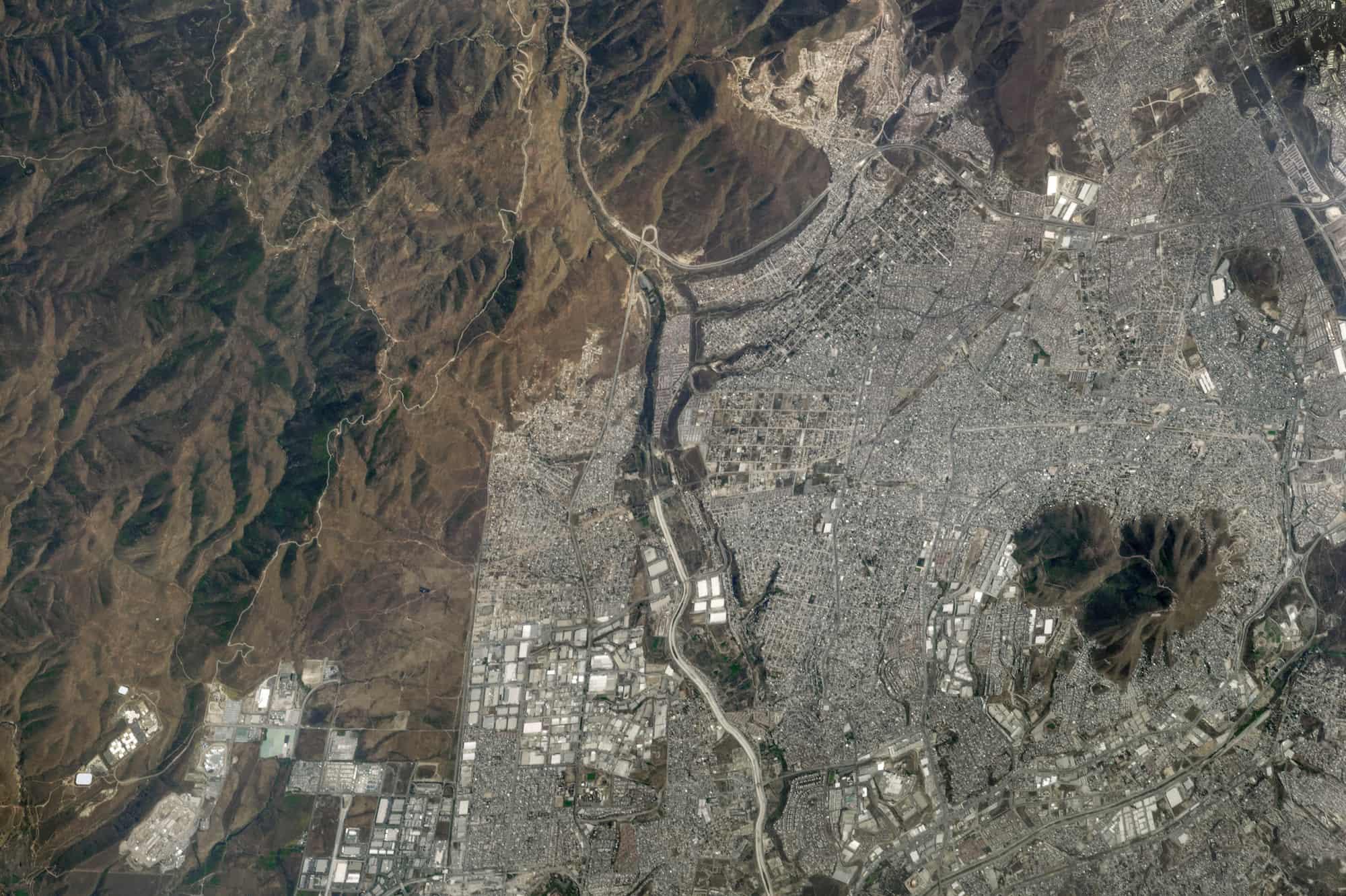 Photograph of Tijuana, Mexico.